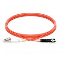 UltraLAN Fiber Flylead LC-ST UPC MM Duplex (1Meter)