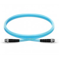 UltraLAN Fiber Flylead ST-ST UPC MM Duplex OM3 (1Meter)