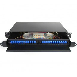 UltraLAN 24 Port Sliding Fiber Patch Panel