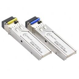 UltraLAN 10G SFP BiDi Module Pair - SM 10KM 1270/1330nm