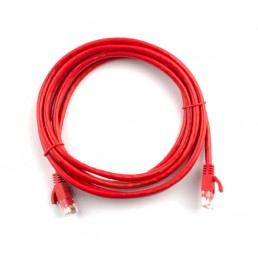 5m CAT6 Flylead (Red)