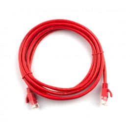 2m CAT6 Flylead (Red)