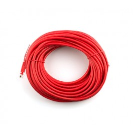 1m CAT6 Flylead (Red)