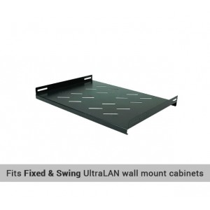 "UltraLAN 19"" 330mm Shelf for Wall Mount Cabinets"