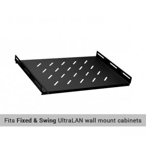 "UltraLAN 19"" 350mm Shelf for Wall Mount Cabinets"
