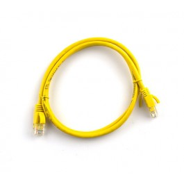 50cm CAT5e Flylead (Yellow)