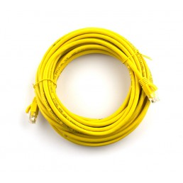 5m CAT5e Flylead (Yellow)