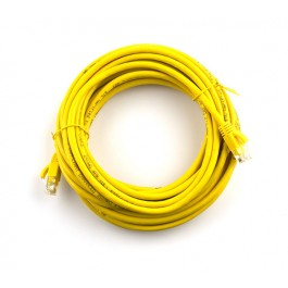 2m CAT5e Flylead (Yellow)