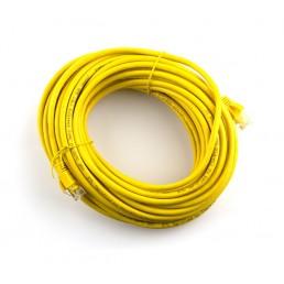 10m CAT5e Flylead (Yellow)