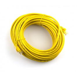 10m CAT5e Flylead (Yellow)